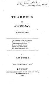 Thaddeus of Warsaw: Volume 2