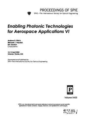 Enabling Photonic Technologies for Aerospace Applications PDF