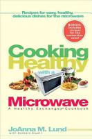 Cooking Healthy with a Microwave PDF