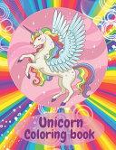 Unicorn Coloring Book PDF