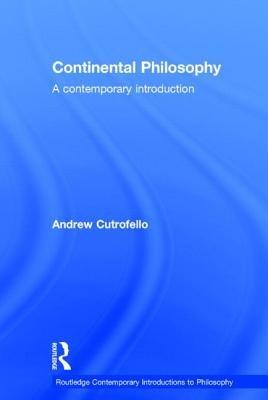 Continental Philosophy PDF