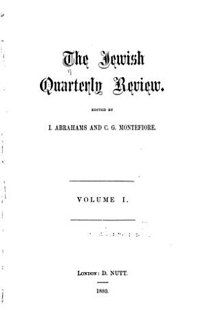 The Jewish Quarterly Review PDF