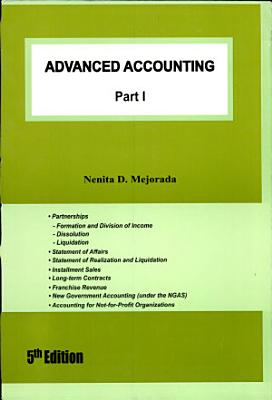 Advanced Accounting I