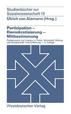 Partizipation     Demokratisierung     Mitbestimmung PDF