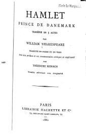 Hamlet, prince de Danemark: tragédie en 5 actes