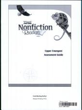 15295:TFK: NonFiction Readers:Upper Emergent:Assessment Guide Book