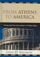 From Athens to America PDF