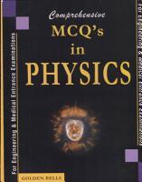 Comprehensive MCQs in Physics PDF