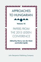 Approaches to Hungarian PDF