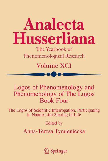 Logos of Phenomenology and Phenomenology of The Logos  Book Four PDF