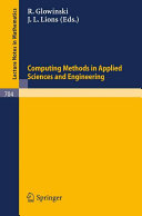 Download Computing Methods in Applied Sciences and Engineering  1977  Third International Symposium  December 5 9  1977  IRIA LABORIA  Institut de Recherche d Informatique et d Automatique Book