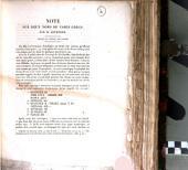 Note sur deux noms de vases grecs