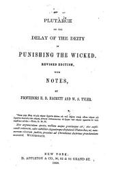 On the delay of the Deity in punishing the wicked