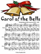 Carol of the Bells - Elementary Piano Sheet Music Junior Edition