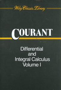 Differential and Integral Calculus  Volume 1 PDF