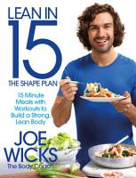 Lean in 15   The Shape Plan PDF