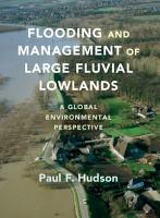 Flooding and Management of Large Fluvial Lowlands PDF