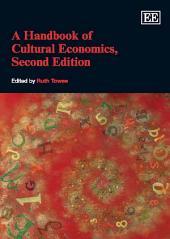 A Handbook of Cultural Economics