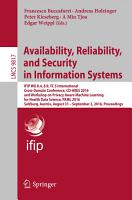 Availability  Reliability  and Security in Information Systems PDF
