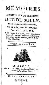 Memoires mis en ordre avec de remarques, par Mr. L. D. L. D. L. Nouvelle ed. (etc.): Volume 5