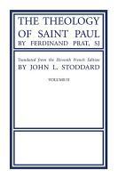 The Theology of Saint Paul  Volume 2 PDF