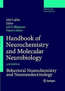 Handbook of Neurochemistry and Molecular Neurobiology