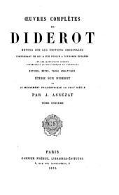 Oeuvres complètes de Diderot: Beaux-arts