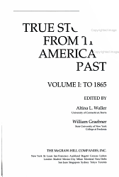 True Stories from the American Past PDF