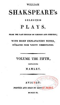 William Shakspeare s Selected Plays PDF