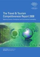 The Travel   Tourism Report 2008 PDF