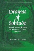 Dramas of Solitude PDF