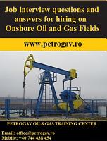Job interview questions and answers for hiring on Onshore Oil and Gas Fields PDF