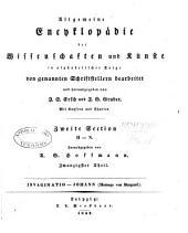 Allgemeine Encyclopädie der Wissenschaften und Künste in alphabeischer Folge: Band 20