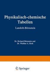 Physikalisch-chemische tabellen