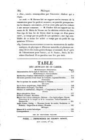 Bulletin universel des sciences et de l'industrie. 1: Bulletin des sciences mathématiques, astronomiques, physiques et chimiques, Volume 9