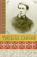 The Paris Letters of Thomas Eakins PDF