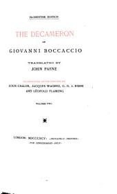 The Decameron of Giovanni Boccaccio: Volume 2