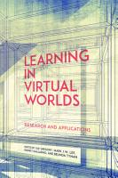 Learning in Virtual Worlds PDF