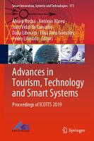 Advances in Tourism  Technology and Smart Systems PDF