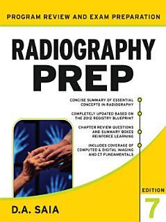 Radiography PREP Program Review and Exam Preparation  Seventh Edition Book