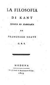 La filosofia di Kant
