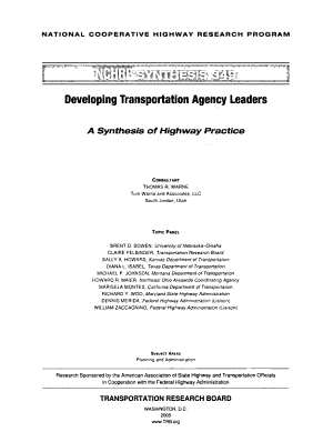 Synthesis of Highway Practice PDF