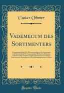 Vademecum Des Sortimenters PDF