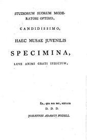 Regina, lusus poëticus: elegiae XIII, adcedunt ejusdem varii generis carmina juvenilia