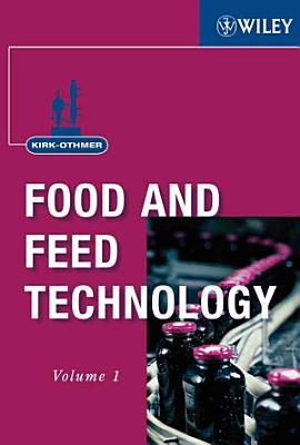 Kirk Othmer Food and Feed Technology  2 Volume Set PDF