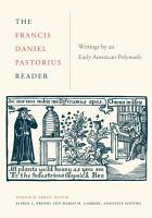 The Francis Daniel Pastorius Reader PDF