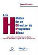Los h  bitos de un director de proyectos eficaz PDF