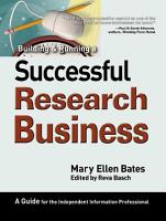 Building   Running a Successful Research Business PDF
