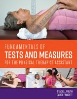 Fundamentals of Tests and Measures for the Physical Therapist Assistant PDF