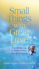Small Things with Great Love Book